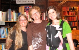 With Cousin Amy at Elliott Bay Book Co.