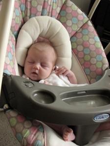 Sleeping and swinging...