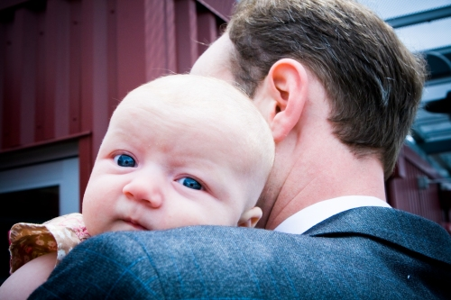 Blue Eyes with her Dad