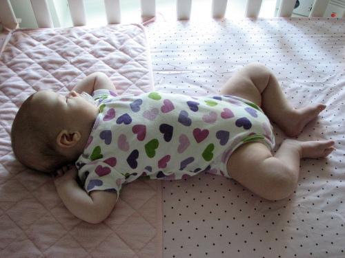 The latest baby yoga pose.