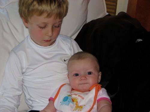 Caroline loves her cousin. :)